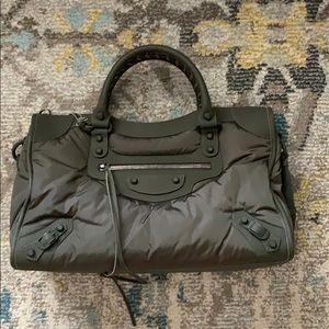 Balenciaga Nylon Classic City Bag